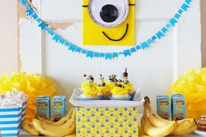 Kids-Photography-delhi-minion-theme-7