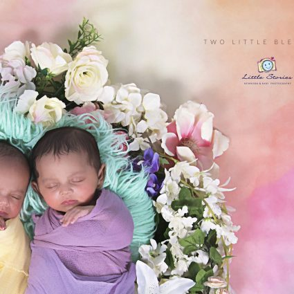 Twins Newborn Photo Shoots