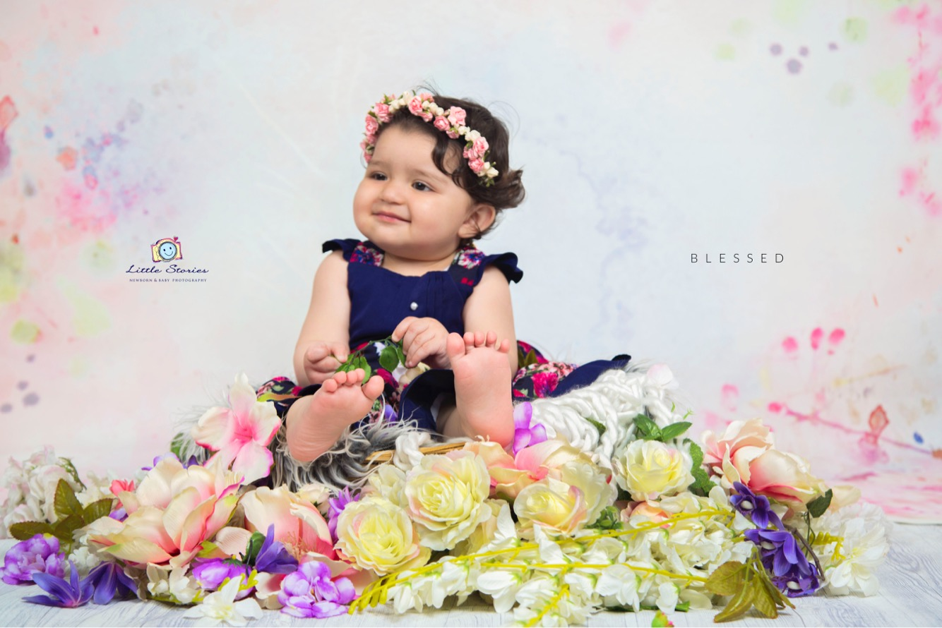 Baby Girl Photography in Noida
