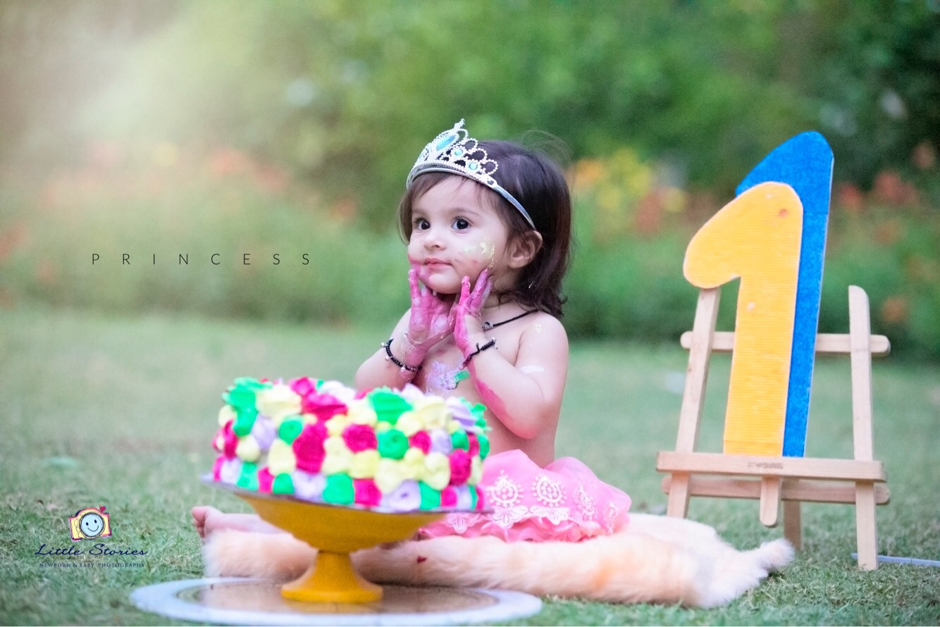Cake Smash Baby Photography Delhi Noida