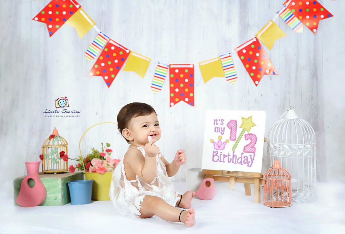 Cake Smash Baby Photography in Gurugram