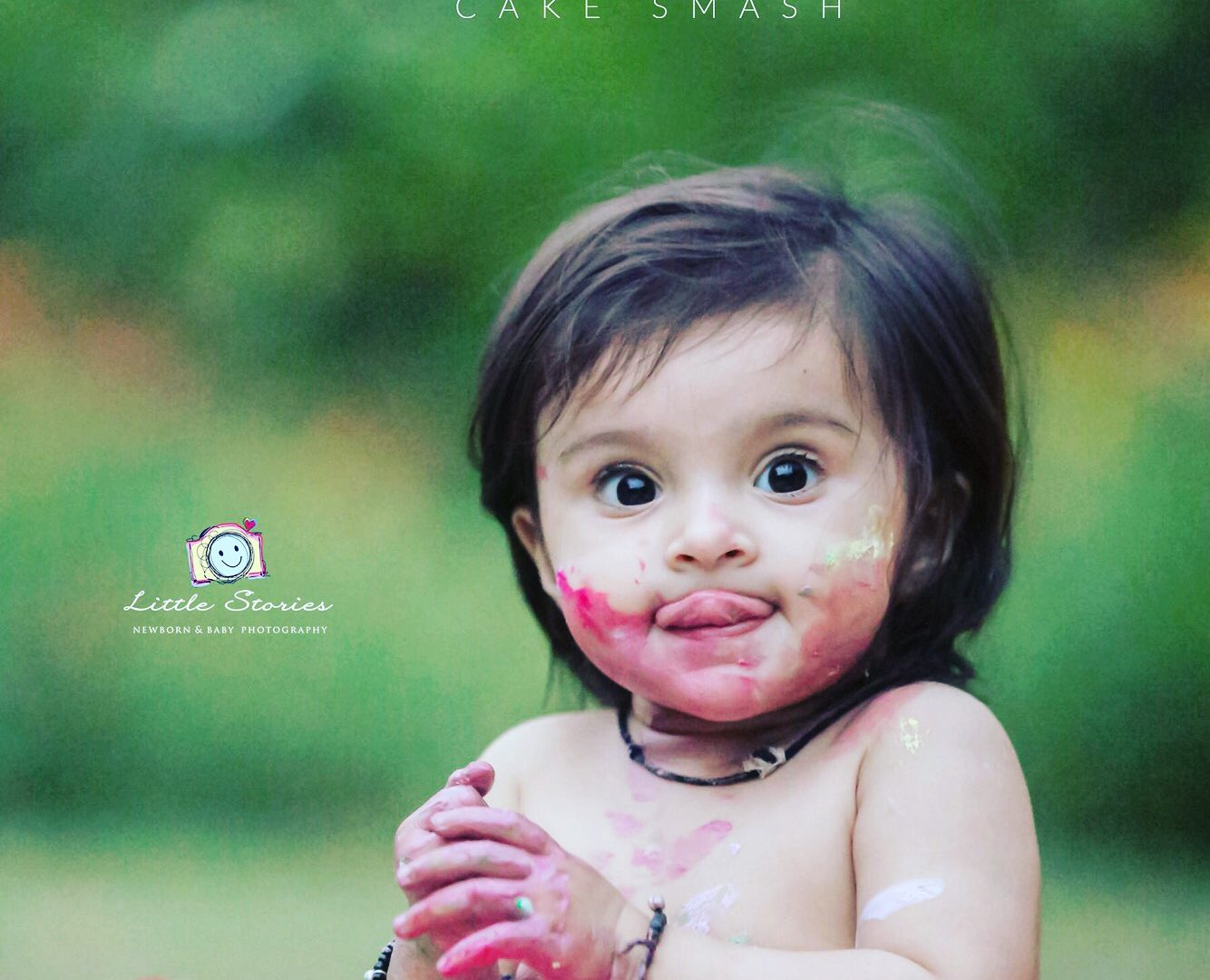 Cake Smash Baby Photography in Faridabad