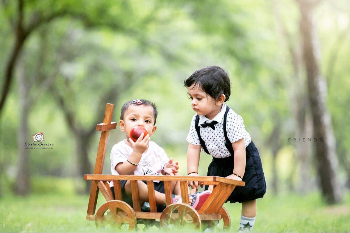 Twins Kids Photography in Noida Delhi Gurugram